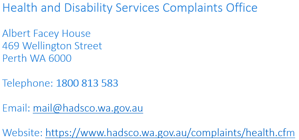health and disability services